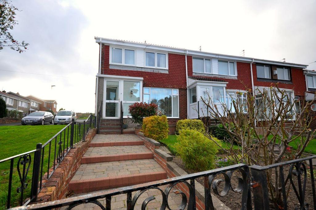 3 Bedrooms End Of Terrace House for sale in Vicarage Close, Silksworth, Sunderland