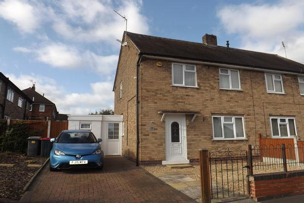 2 Bedrooms Semi Detached House for sale in Yewtree Road, Hucknall, Nottingham, NG15