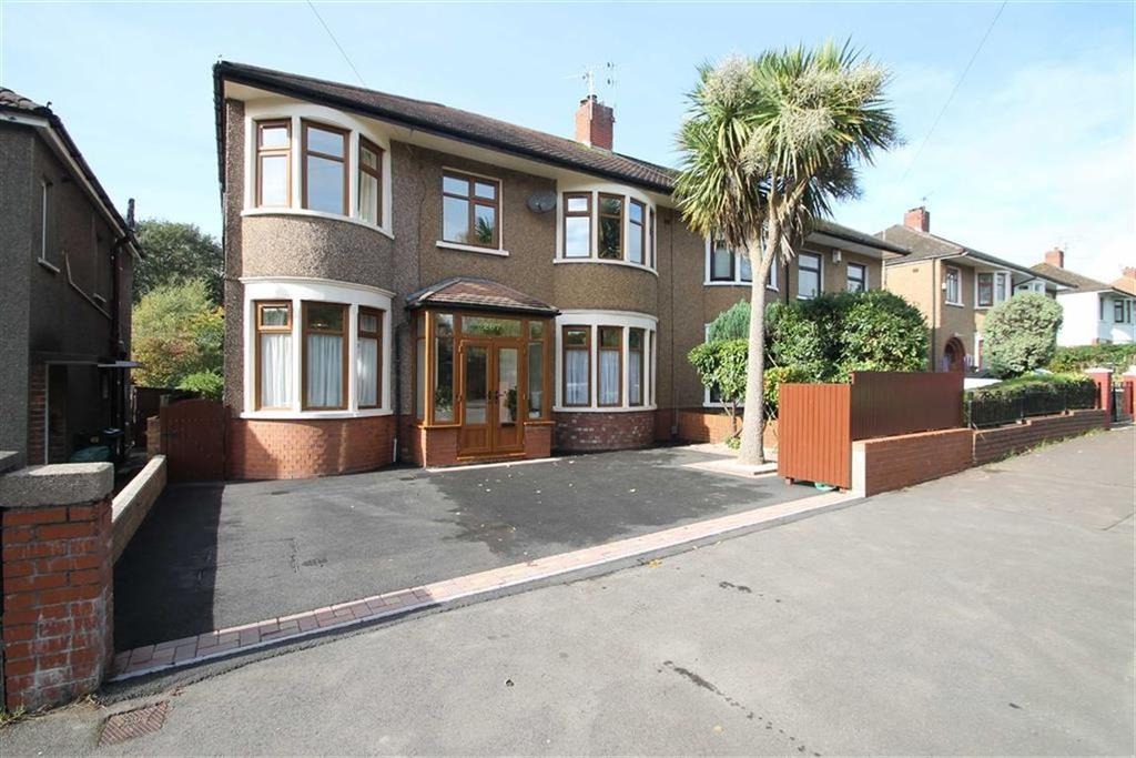 5 Bedrooms Semi Detached House for sale in Allensbank Road, Cardiff