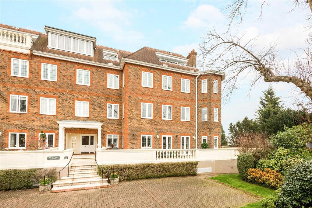 3 Bedrooms Flat for sale in Wray Mill House, Batts Hill, Reigate, Surrey, RH2