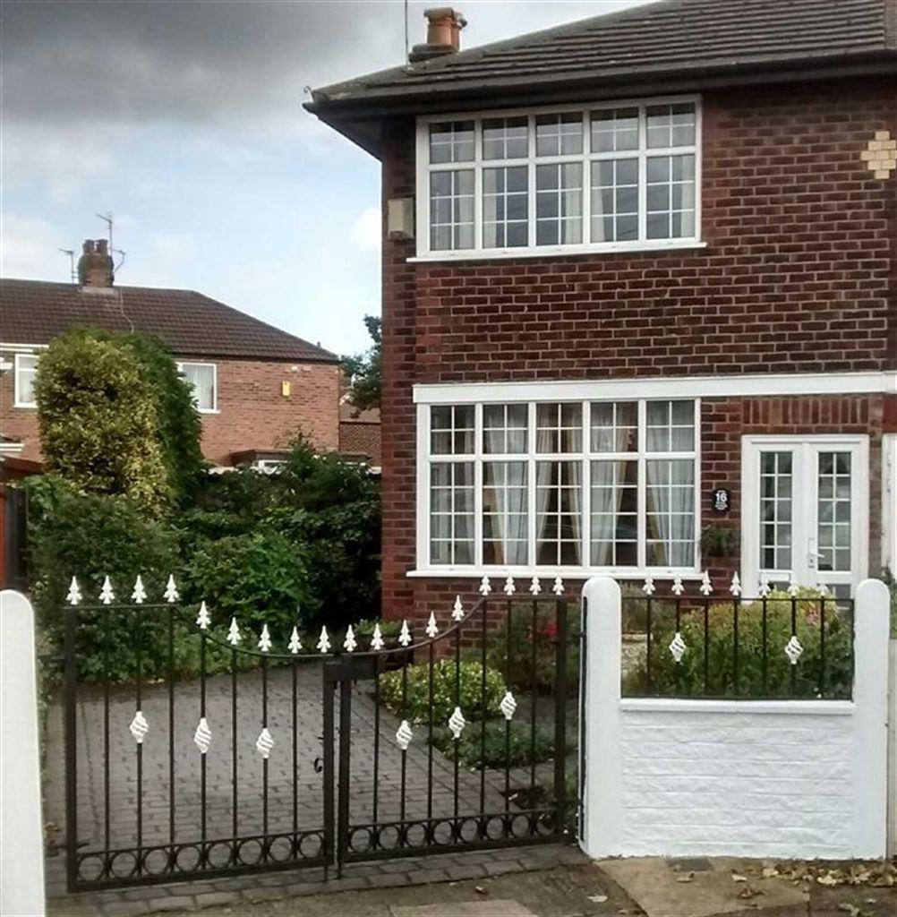 2 Bedrooms Semi Detached House for sale in Styal Avenue, STRETFORD