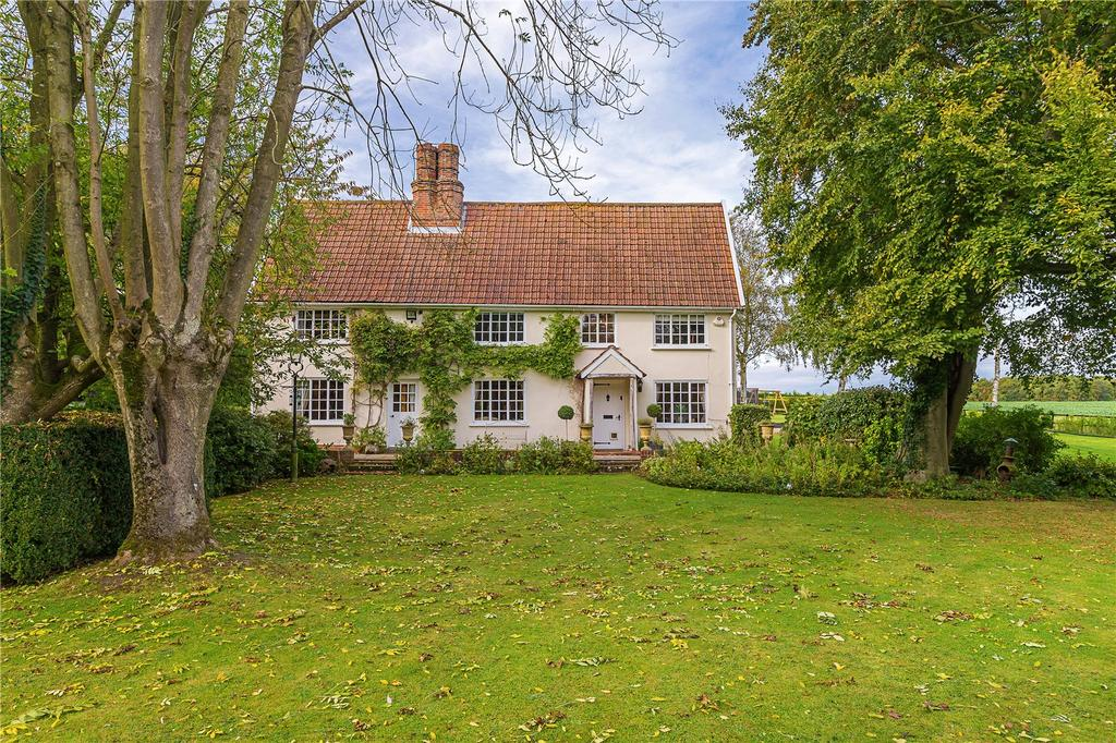 4 Bedrooms Detached House for sale in Newmarket Road, Cowlinge, Newmarket, Suffolk, CB8