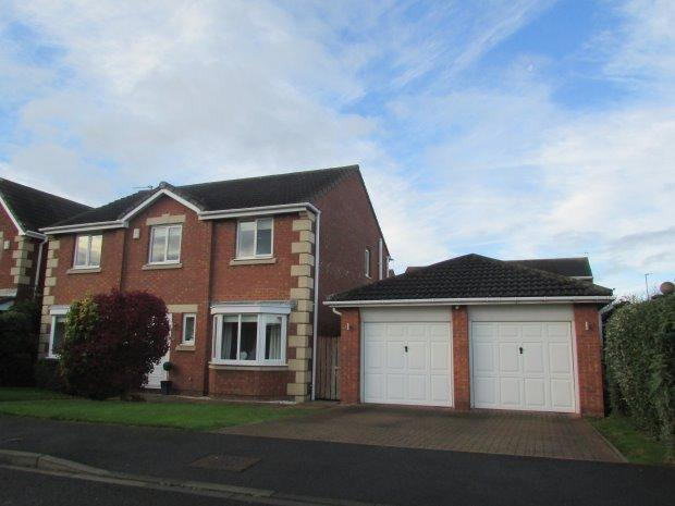 4 Bedrooms Detached House for sale in LAPWING ROAD, BISHOP CUTHBERT, HARTLEPOOL