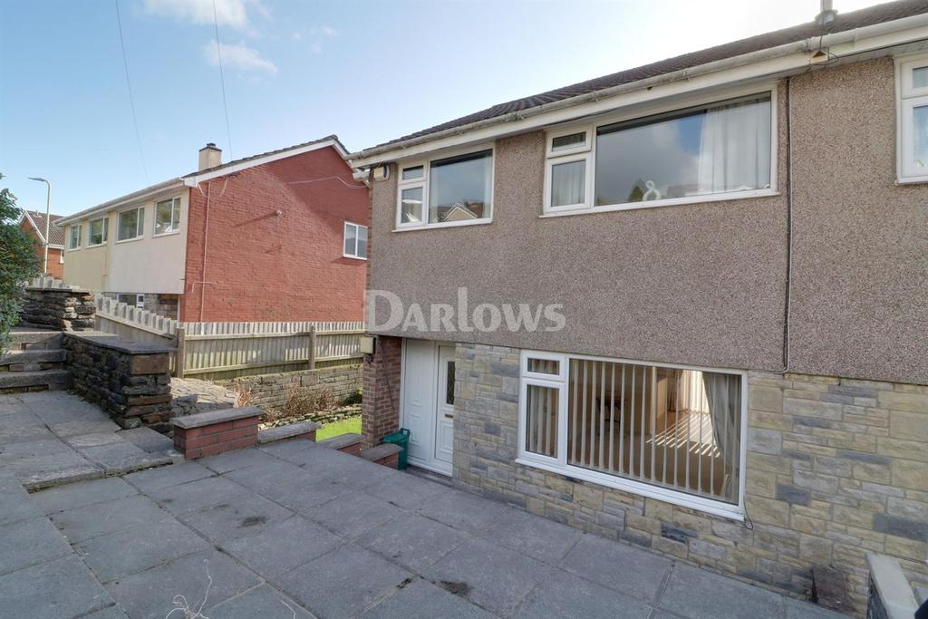 3 Bedrooms Semi Detached House for sale in Heather Way, Porth