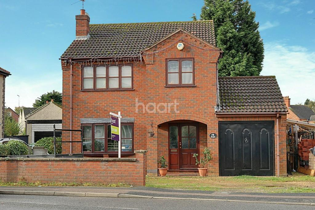 3 Bedrooms Detached House for sale in Norwich Road, Wisbech