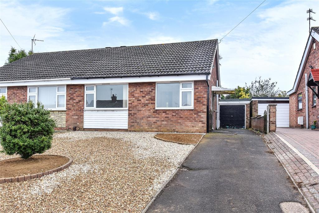 2 Bedrooms Semi Detached Bungalow for sale in Newport Avenue, Grantham, NG31