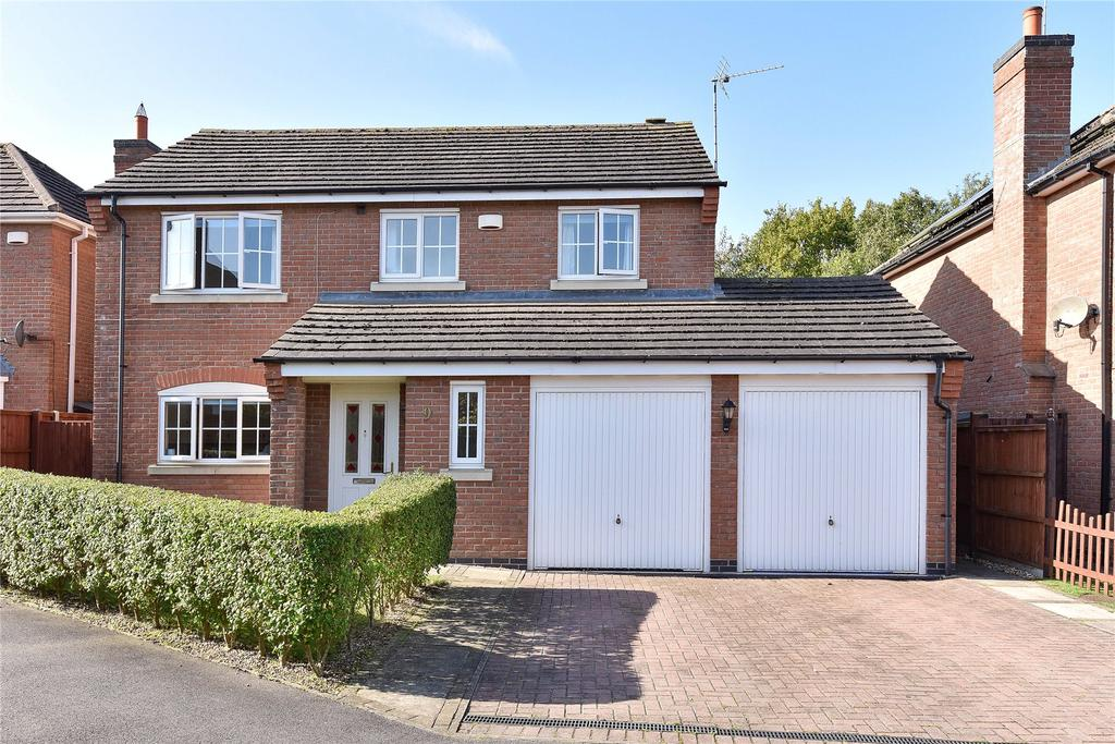 4 Bedrooms Detached House for sale in Hall Drive, Swineshead, PE20