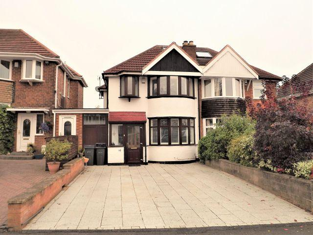3 Bedrooms Semi Detached House for sale in Rowan Road,Sutton Coldfield,West Midlands