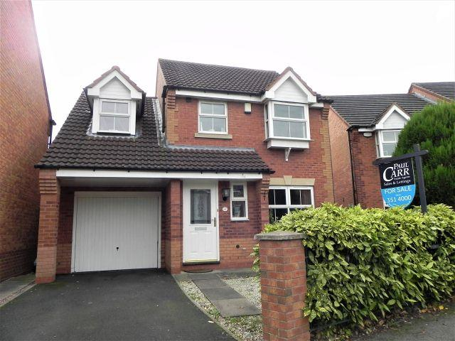 3 Bedrooms Detached House for sale in Pype Hayes Road,Pype Hayes,Birmingham