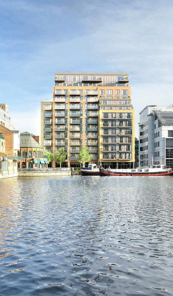 2 Bedrooms Flat for sale in Turnberry Quays, Dockside, Canary Wharf, London, E14