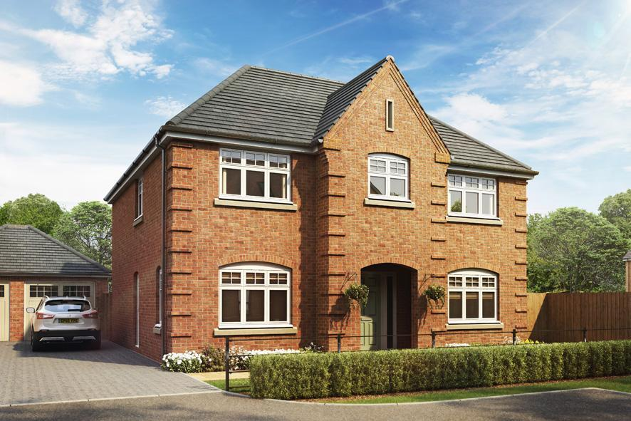 4 Bedrooms Detached House for sale in The Forton, Southam Road, Thornley Grove, Radford Semele, CV31