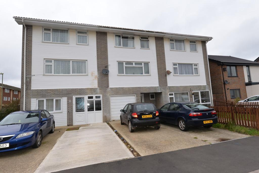 3 Bedrooms End Of Terrace House for sale in Drake Close, New Milton