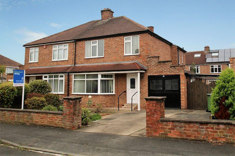 3 Bedrooms Semi Detached House for sale in Highfield Drive, Eaglescliffe TS16 0DN