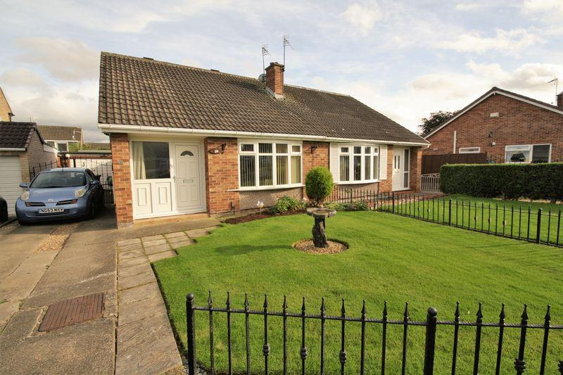 2 Bedrooms Semi Detached Bungalow for sale in Norton Drive, Bishopsgarth, Stockton, TS19 8TS