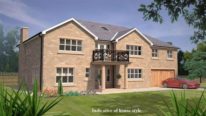 4 Bedrooms Detached House for sale in Plot 1, 238 Middle Drive, Darras Hall, Ponteland
