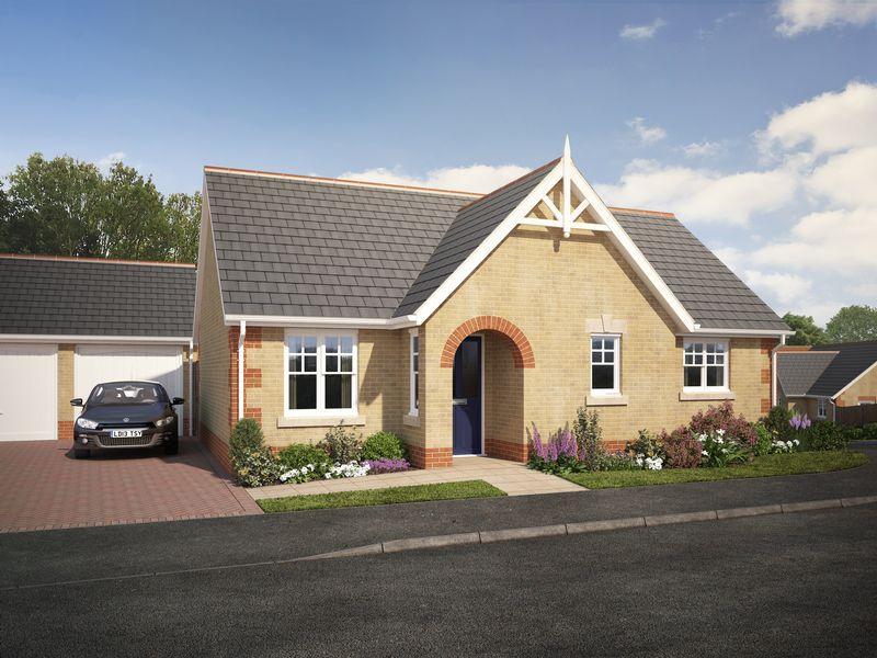 2 Bedrooms Detached Bungalow for sale in 'Rowan Gardens' ,Rowan Close, Haddenham.