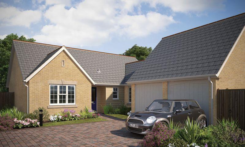 3 Bedrooms Detached Bungalow for sale in 'Rowan Gardens' ,Rowan Close, Haddenham.