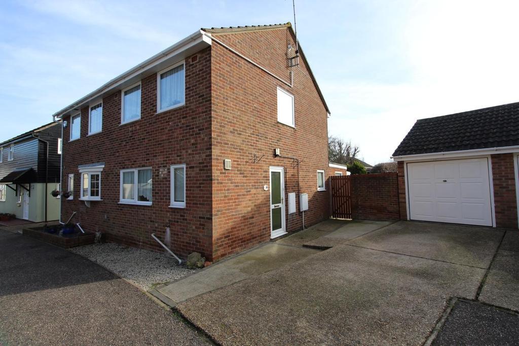 3 Bedrooms Semi Detached House for sale in Honeysuckle Way, Witham, Essex, CM8