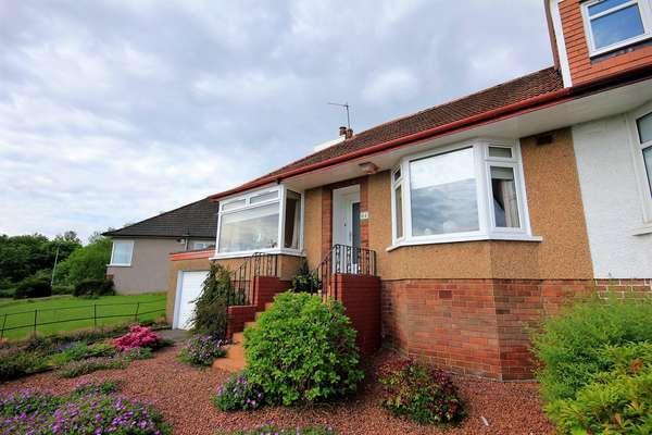 2 Bedrooms Semi Detached Bungalow for sale in 64 Braefoot Avenue, Milngavie, Glasgow, G62 6JT