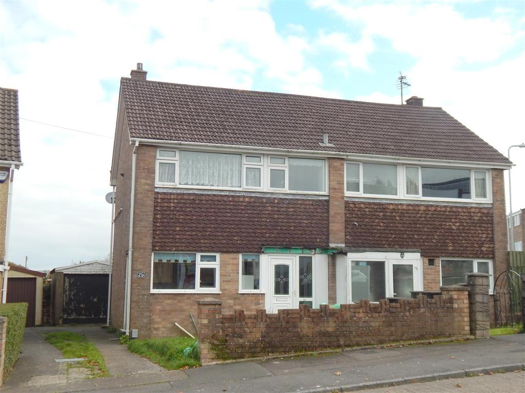 3 Bedrooms Semi Detached House for sale in Mount Crescent, Morriston, Swansea