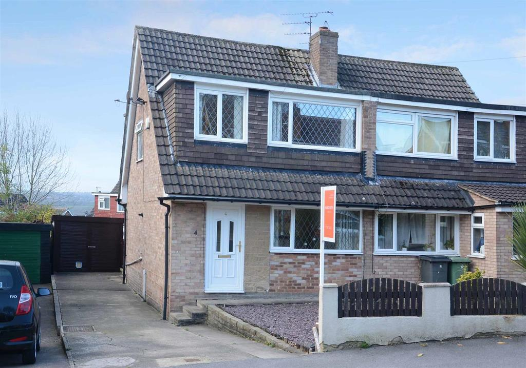 3 Bedrooms Semi Detached House for sale in Greenlea Close, Yeadon