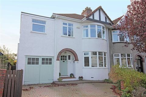 4 bedroom semi-detached house for sale - Queens Drive, Bishopston, Bristol