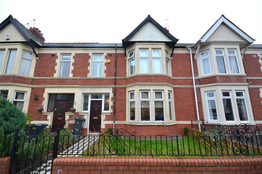 3 Bedrooms Terraced House for sale in Axminster Road, Penylan, Cardiff, CF23