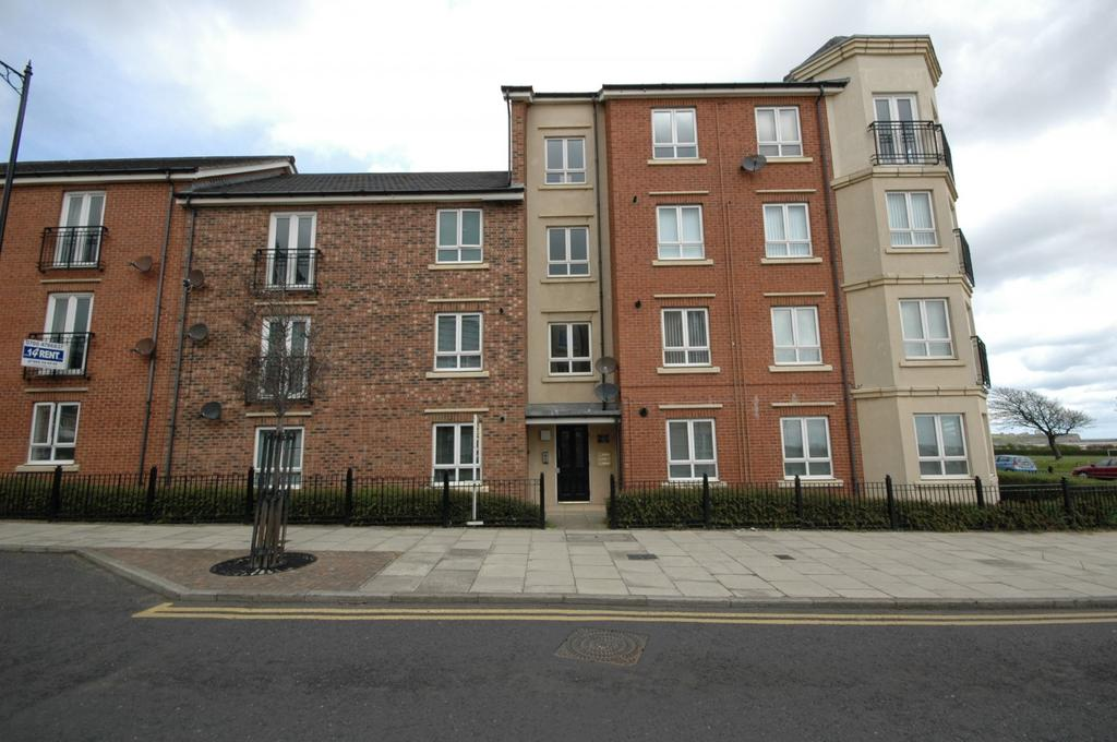 2 Bedrooms Flat for sale in Sea Winnings Way, South Shields