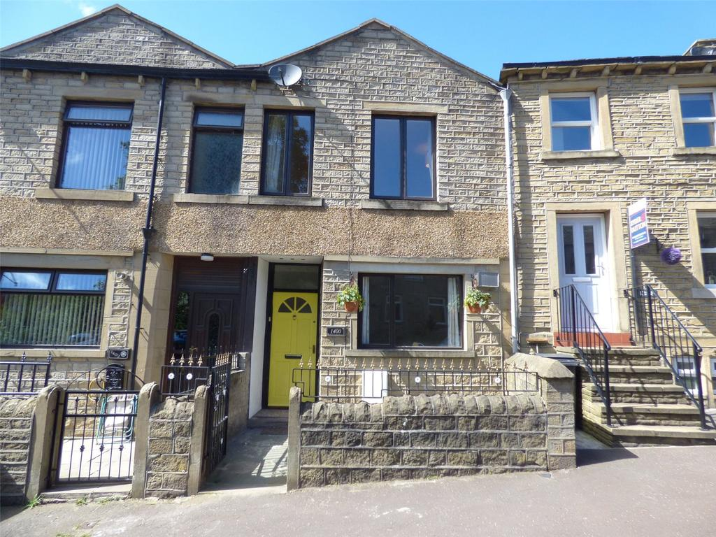 3 Bedrooms Terraced House for sale in Manchester Road, Slaithwaite, Huddersfield, West Yorkshire, HD7