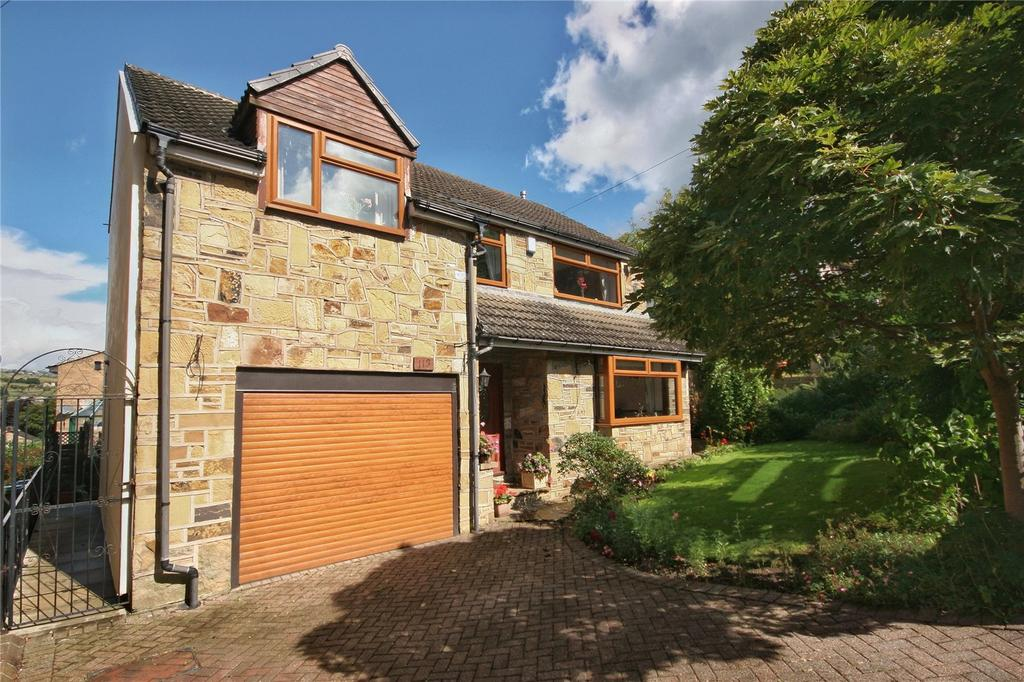4 Bedrooms Detached House for sale in Causeway Side, Linthwaite, Huddersfield, HD7