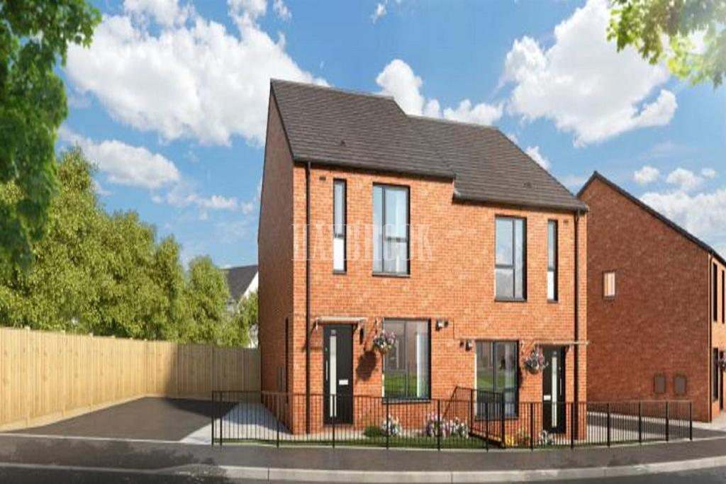 3 Bedrooms Semi Detached House for sale in Plot 250 The Rivelin, Sheffield S5