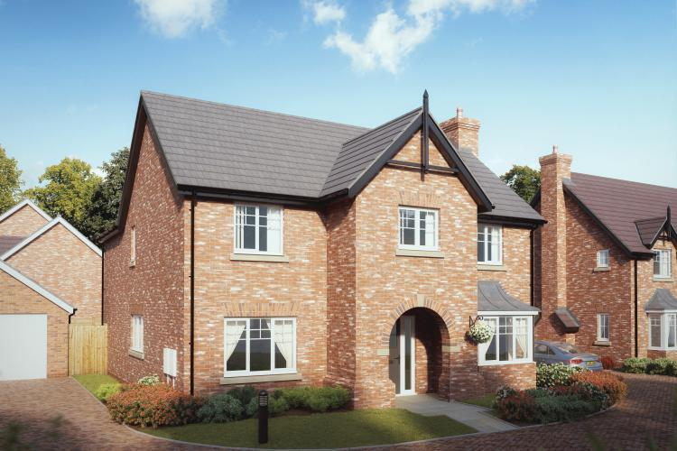 4 Bedrooms Detached House for sale in Plot 10, The Ashford, Chetwynd, Newport, TF10 7JZ
