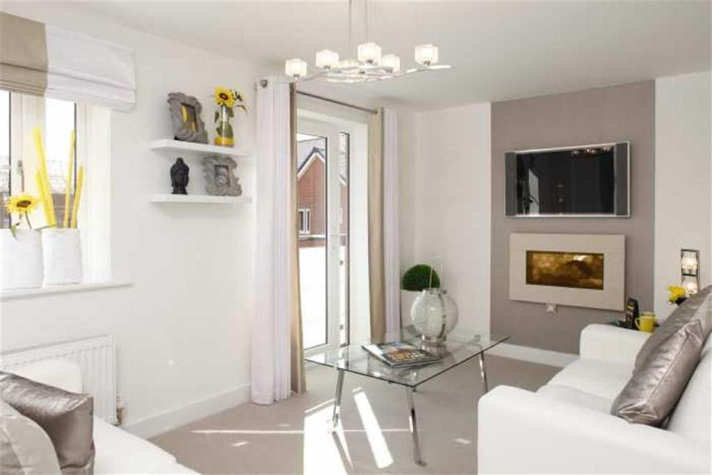 2 Bedrooms Apartment Flat for sale in The Wickets, Banbury Road, Southam