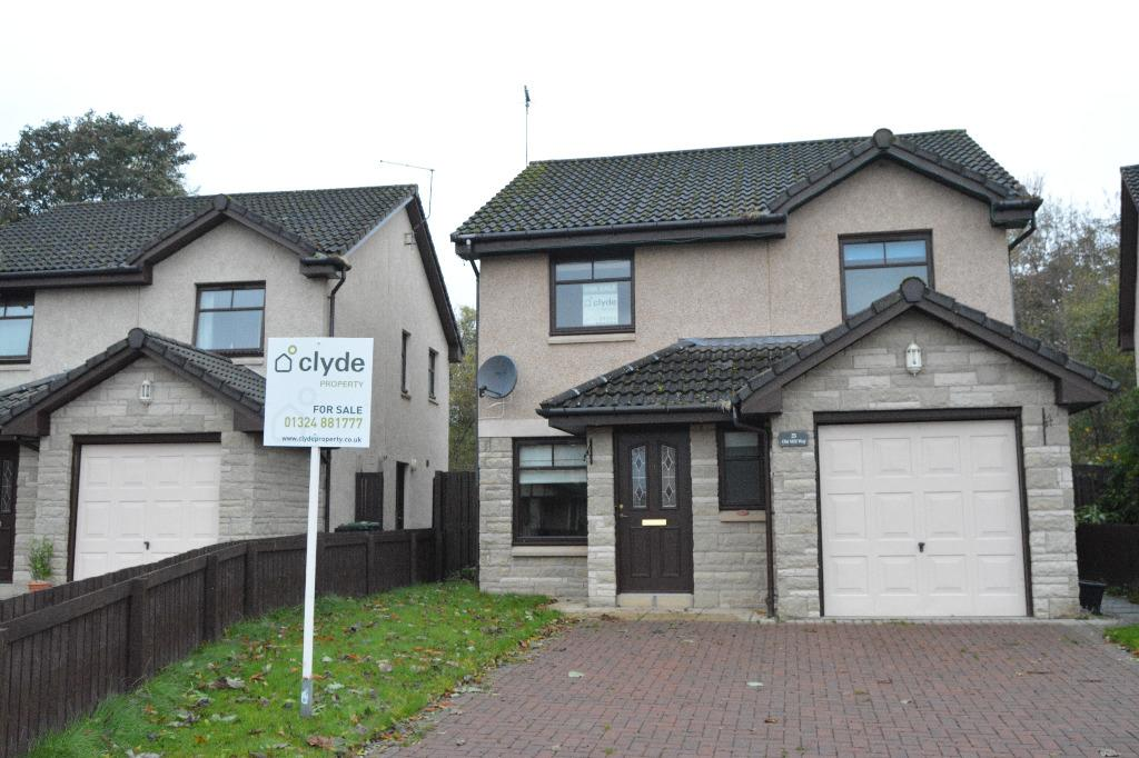 3 Bedrooms Detached House for sale in Old Mill Way, Stoneywood, Denny, FK6 5GY