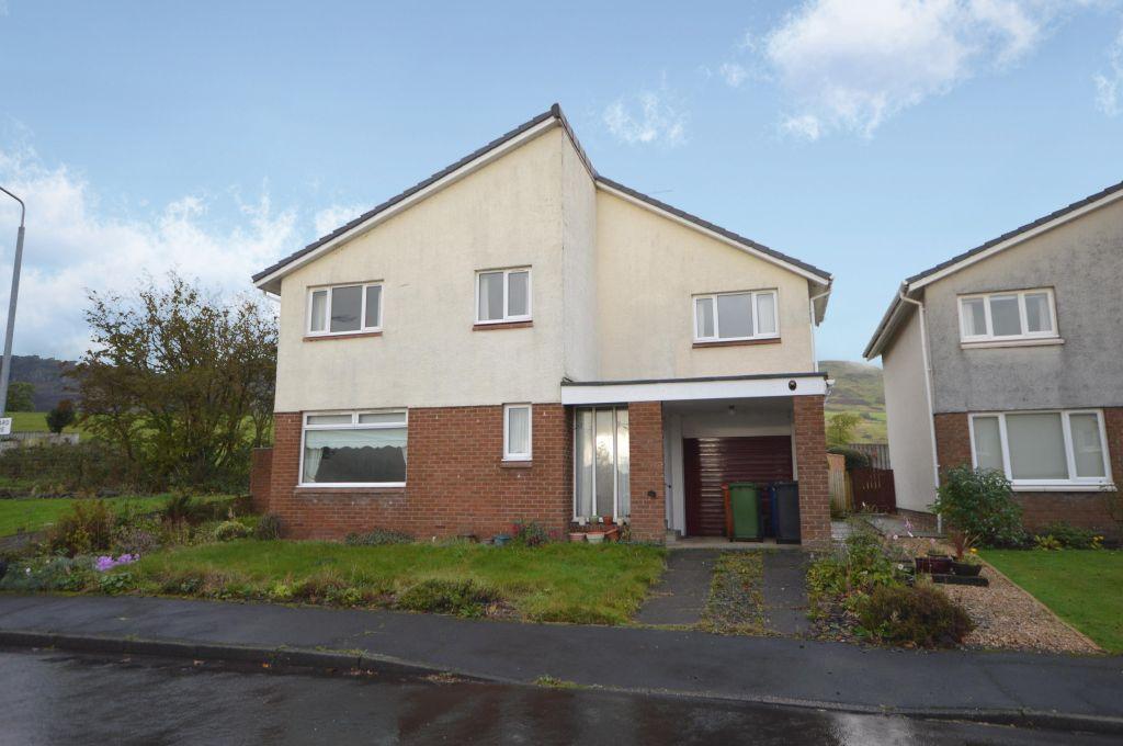 4 Bedrooms Detached Villa House for sale in 30 Glenward Avenue, Lennoxtown, Glasgow, G66 7EP