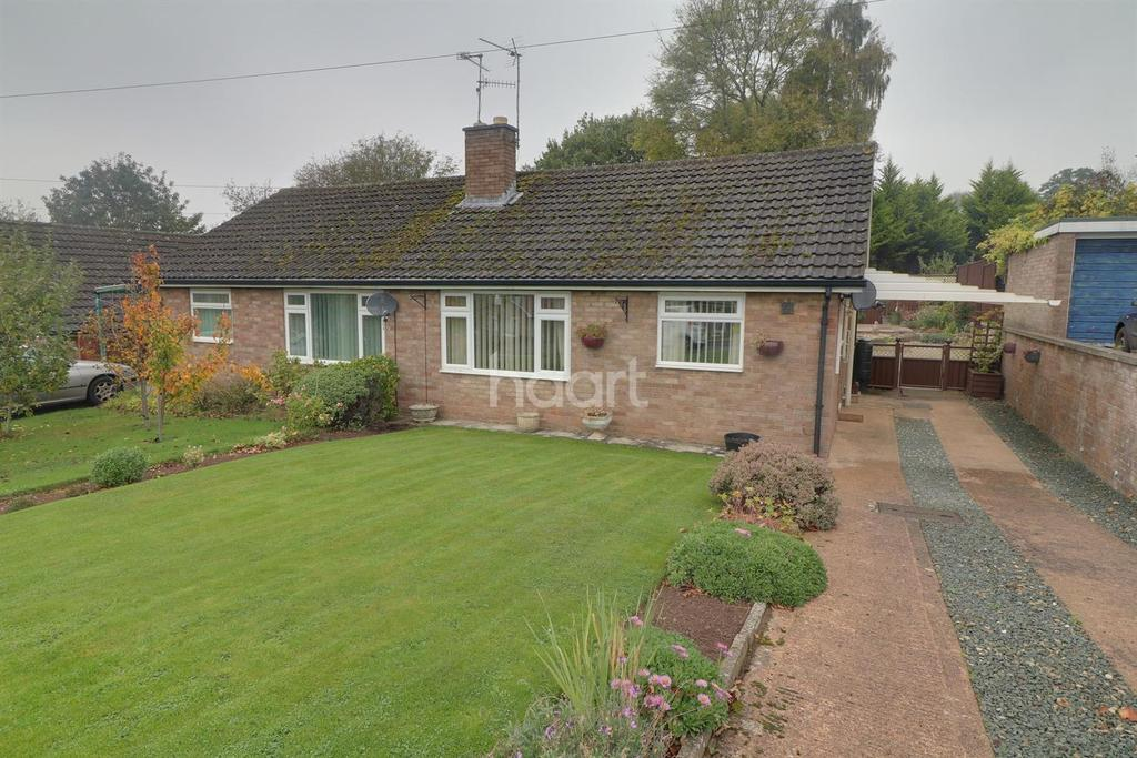 2 Bedrooms Bungalow for sale in Hillcrest Road, Wyesham, Monmouth