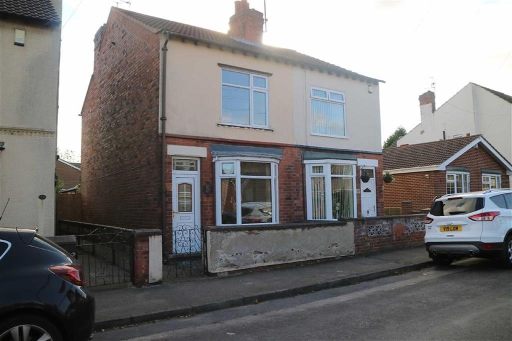 3 Bedrooms Semi Detached House for sale in Stuart Street, Sutton In Ashfield, Notts, NG17