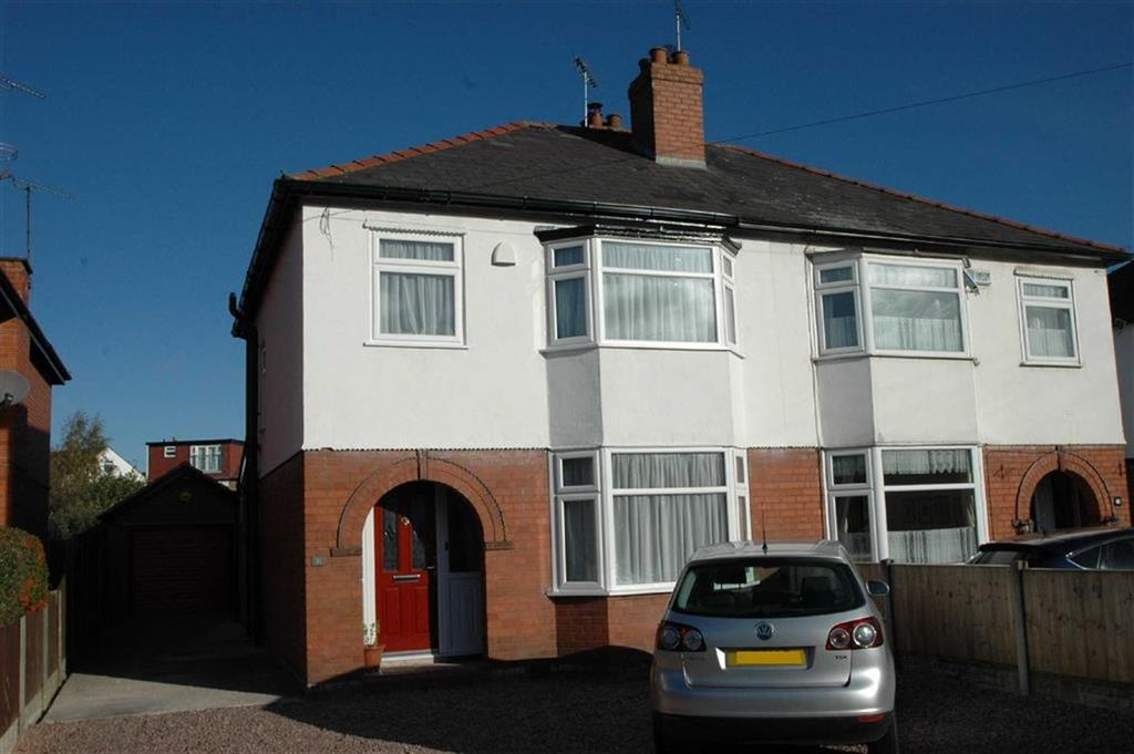 3 Bedrooms Semi Detached House for sale in Vicars Cross Road, Vicars Cross, Chester