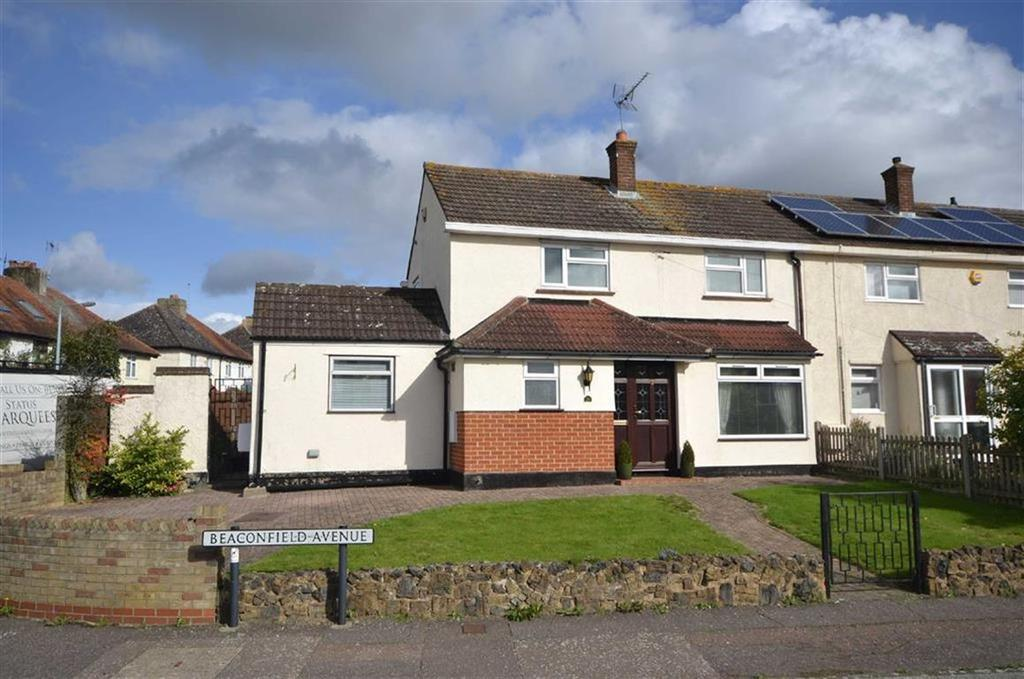 3 Bedrooms End Of Terrace House for sale in Beaconfield Avenue, Epping, Essex, CM16