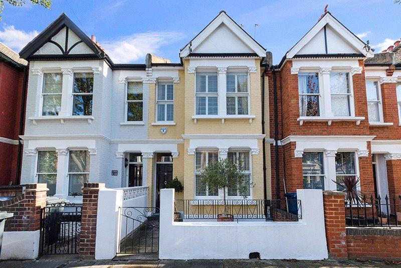 3 Bedrooms Terraced House for sale in Temple Road, Chiswick, London, W4