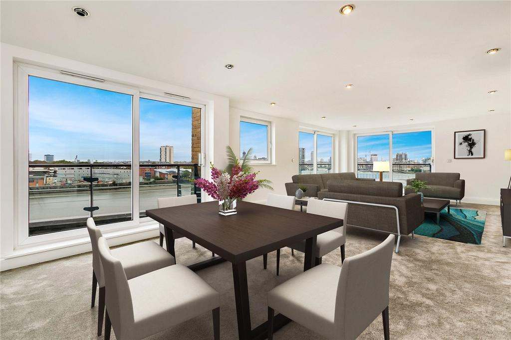 3 Bedrooms Flat for sale in Anchor House, Smugglers Way, London