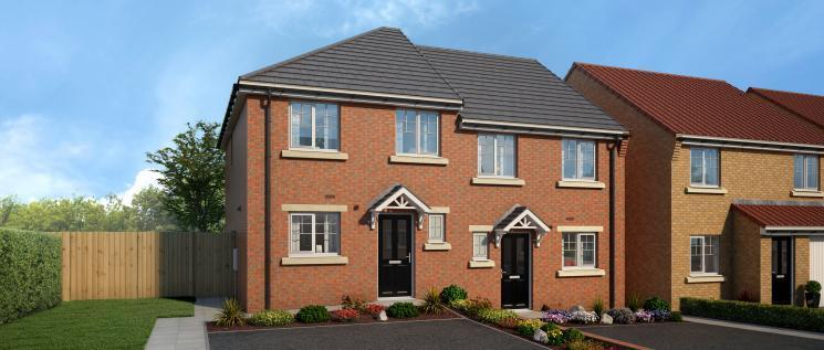 3 Bedrooms Semi Detached House for sale in Thornvale, Spennymoor