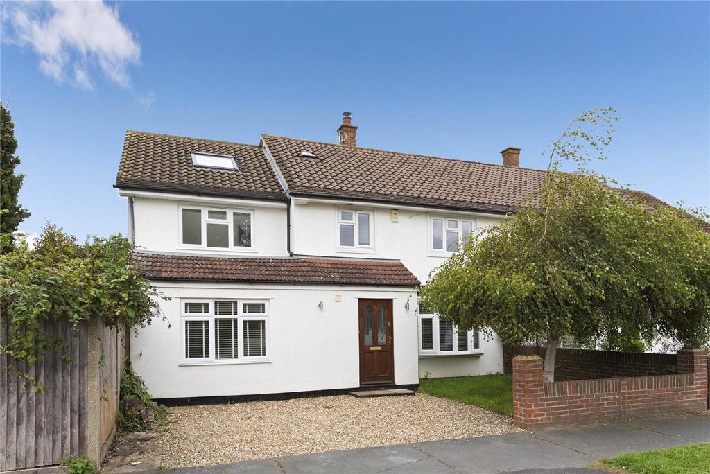 4 Bedrooms Semi Detached House for sale in Lockhart Road, Cobham, Surrey, KT11