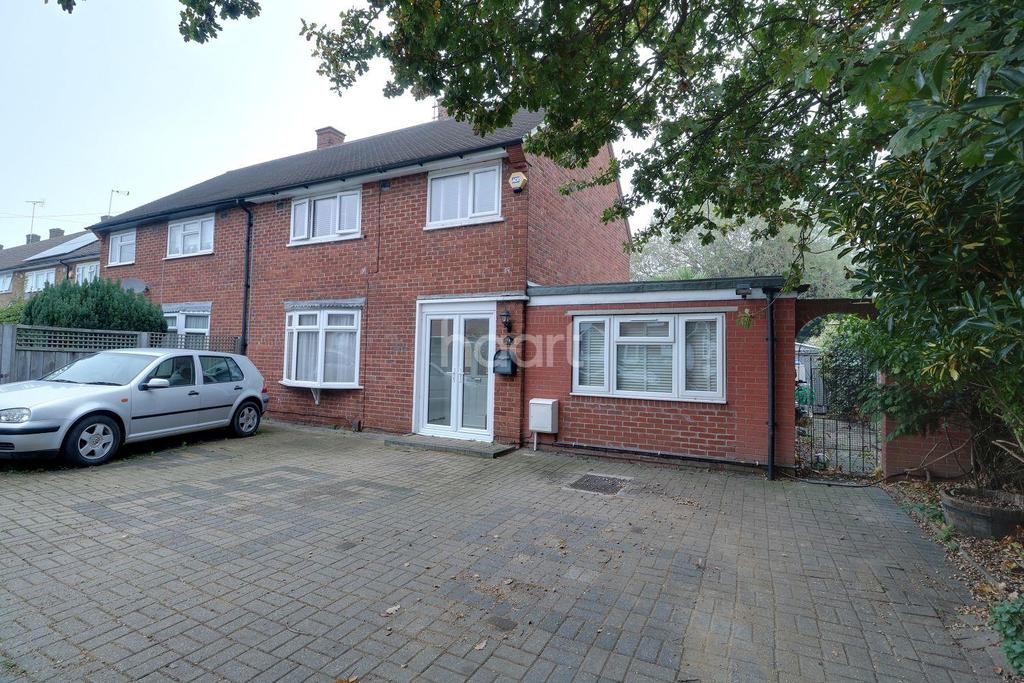 4 Bedrooms Semi Detached House for sale in Usk Road, Aveley
