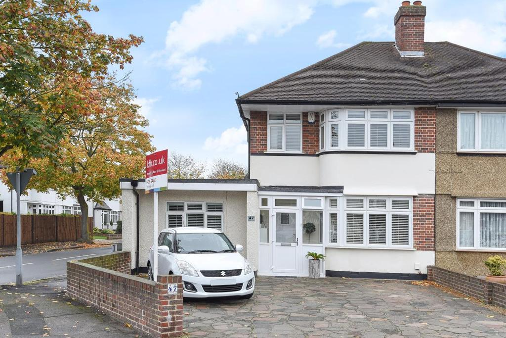 4 Bedrooms Semi Detached House for sale in Bourne Vale, Hayes