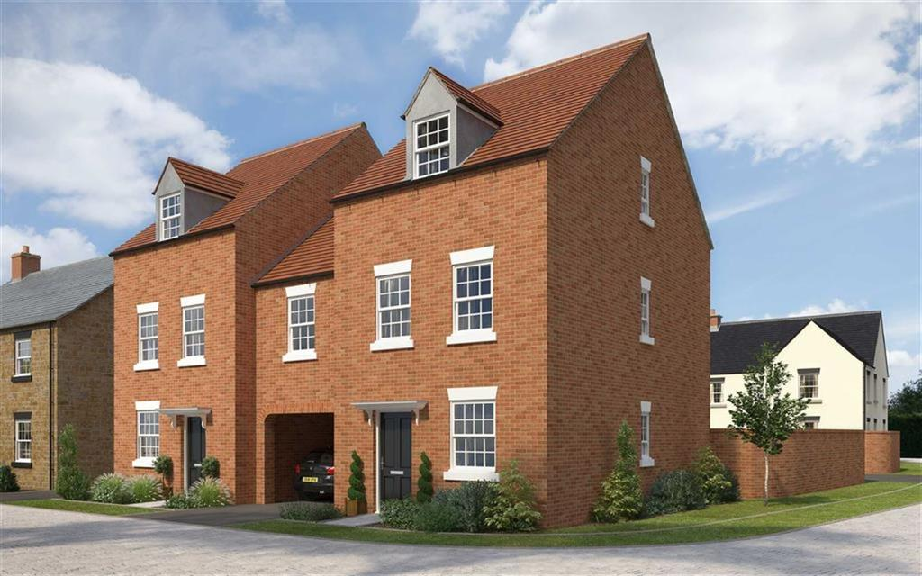 4 Bedrooms Semi Detached House for sale in Axletree Drive, Deddington