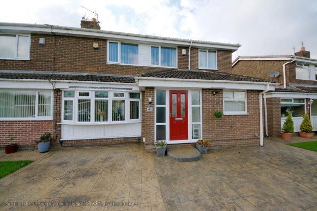 4 Bedrooms Semi Detached House for sale in THE ORCHARD, SEDGEFIELD, SEDGEFIELD DISTRICT