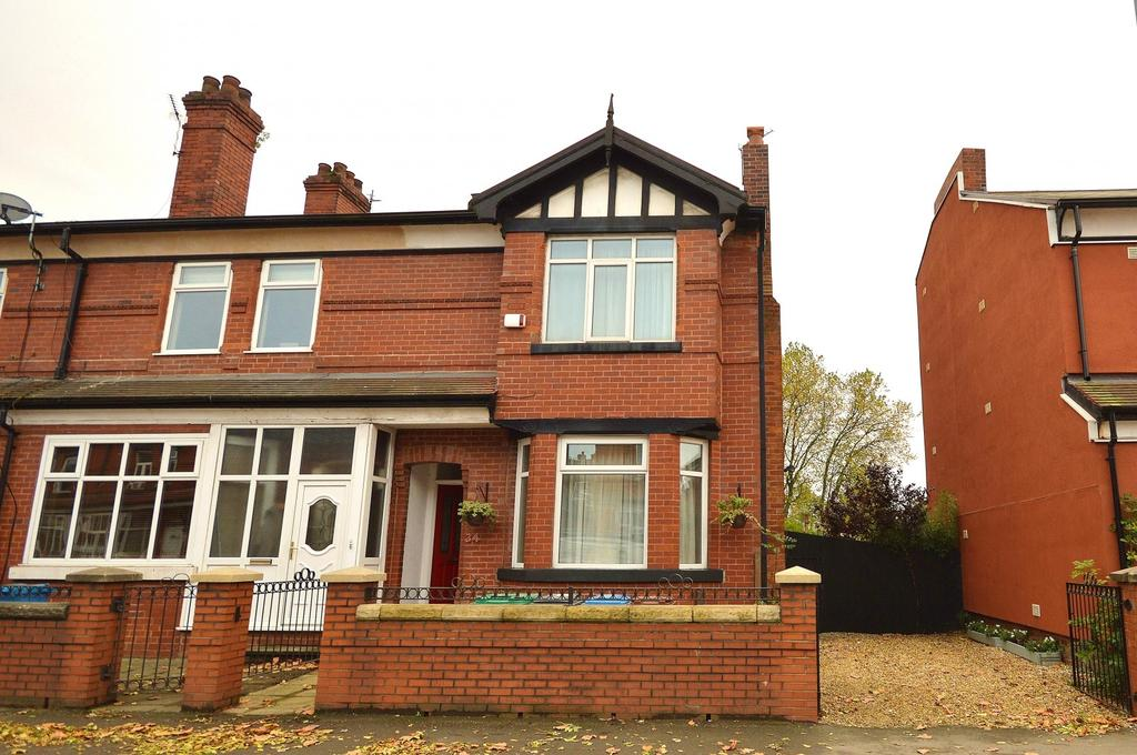 3 Bedrooms End Of Terrace House for sale in Cromwell Grove, Levenshulme