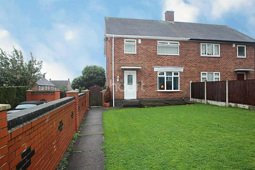 3 Bedrooms Semi Detached House for sale in Harkstead Road, Bestwood Park, Nottingham
