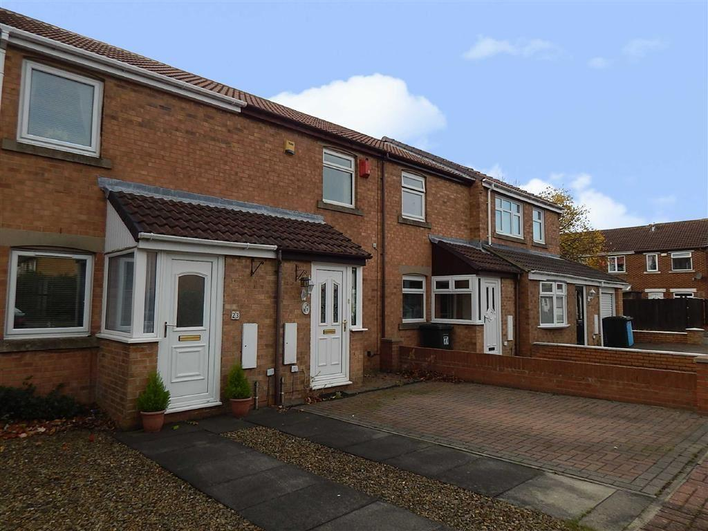 2 Bedrooms Terraced House for sale in Ribblesdale, Hadrian Lodge West, Wallsend, NE28